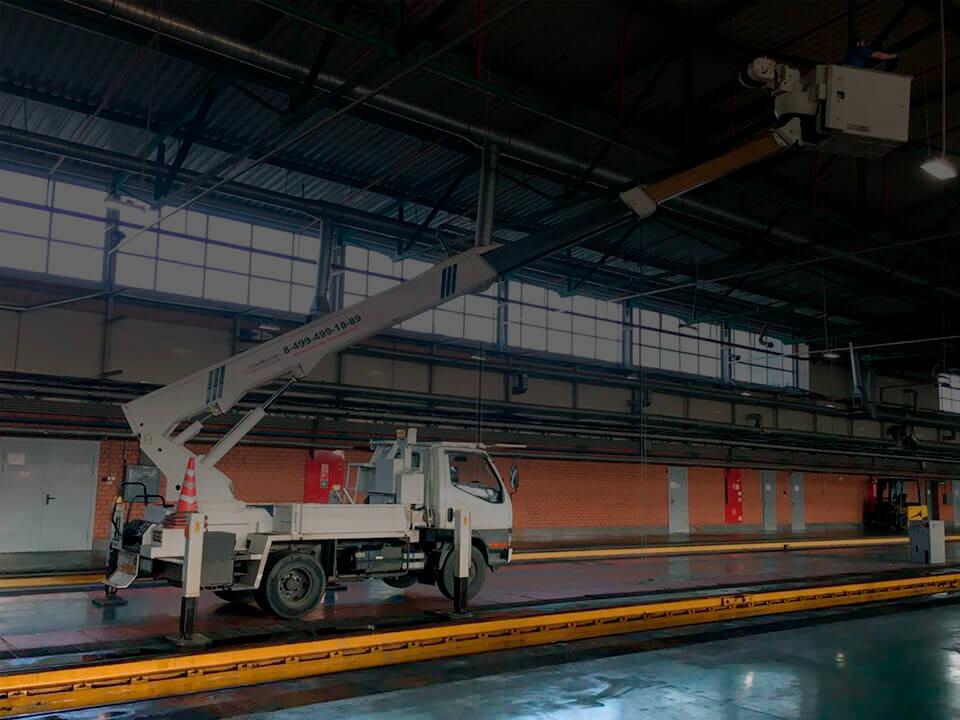 автовышка 16 метров в аренду в москве